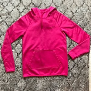 Nike Therma-Fit Hoodie Bright Pink XS Women